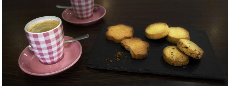 Délicieux biscuits fait maison avec des ingrédients locaux de qualité